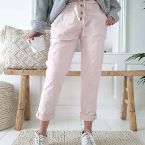 Perfect Jogger Buttons Rose