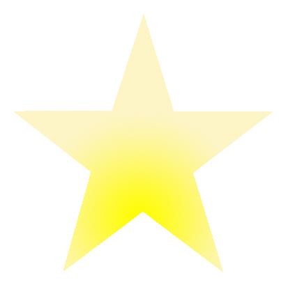Stern-Form-Gelbverlauf