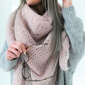 Dreamy Mohair Scarf light pink