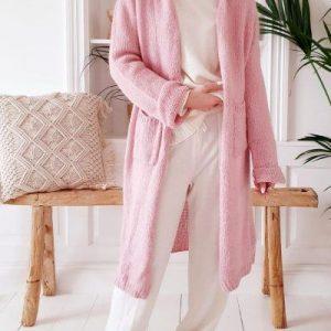 Slowly Morning Cardigan pink