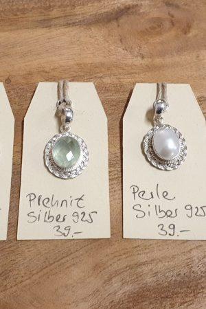 leichter Anhänger Silber