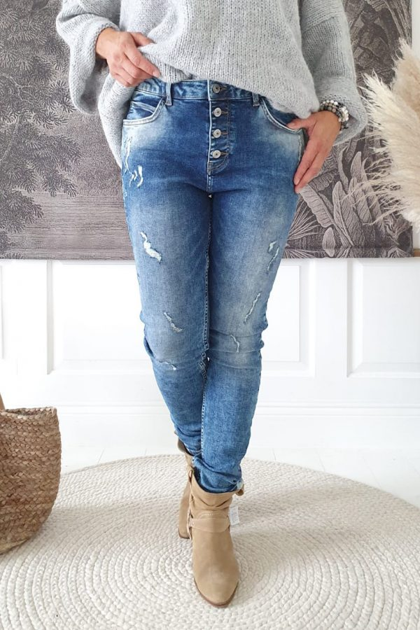 Chic Jeans Blue Wash