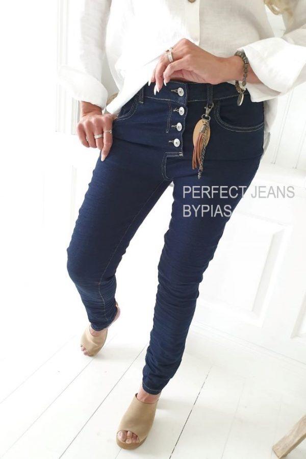 Perfect Jeans casual boyfit dark
