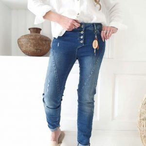 Perfect Jeans broken dark wash