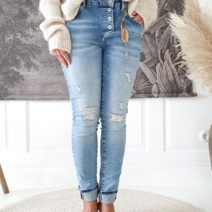 Perfect Jeans relaxed fit, light blue