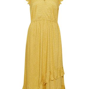 Cream Sommerkleid gelb