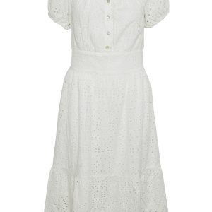 Cream Kleid weiss