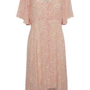 Cream Kleid Koralle
