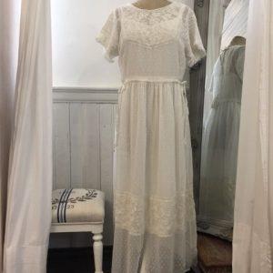 Cream Kleid Boho Chic