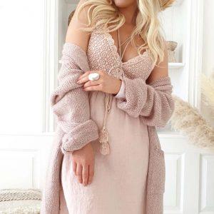 Bypias Love me midi Dress rose