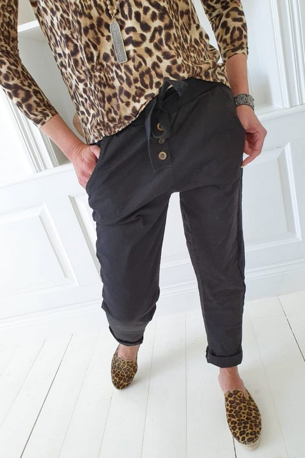 Bypias Perfect Jogger Buttons black